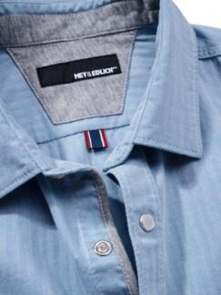 Freitags-Hemd hellblau Detail 3