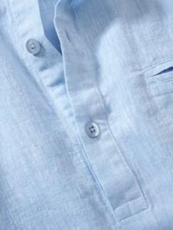 Urahnen-Hemd blau Detail 2