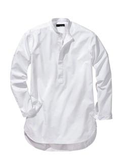 Kurta-Hemd weiß Detail 1