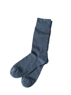 Blickfang-Socke taubenblau Detail 1