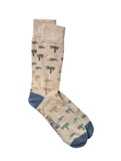 Südsee-Socke sand Detail 1