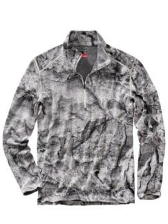 Klima-Zipper grau Detail 1