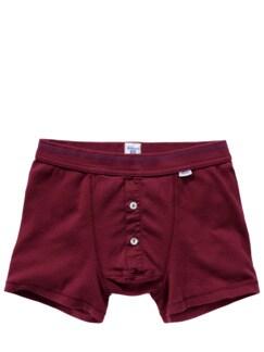 Revival-Shorts bordeaux Detail 1