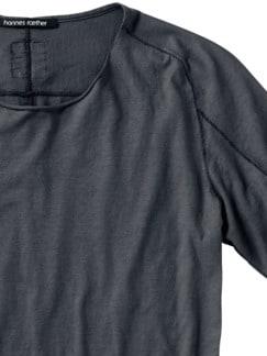 Designer-Shirt Fa35zel blei Detail 4