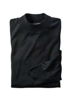 Turtleneck Pullover schwarz Detail 1