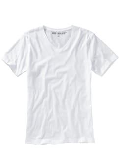 Slim Benchmark-Shirt V-Neck