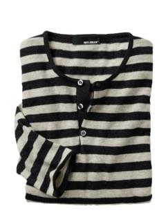 Baby-Alpaka-Shirt grau Detail 1