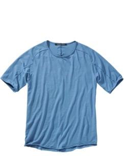 Designer-Shirt Fa35zel hellblau Detail 1