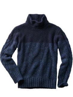 Astro-Pullover nachtblau Detail 1