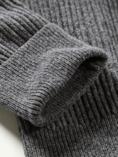Tom-Crean-Pullover dunkelgrau Detail 3