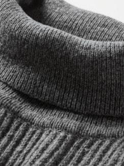 Tom-Crean-Pullover dunkelgrau Detail 4