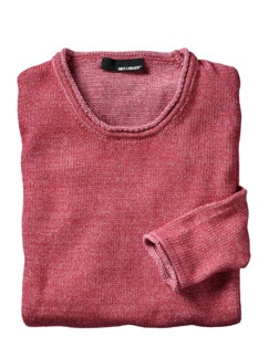 Pullover Combed Cotton 3.0 rot Detail 1