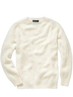 HOWLiN`s Wollpullover mandelweiß Detail 1