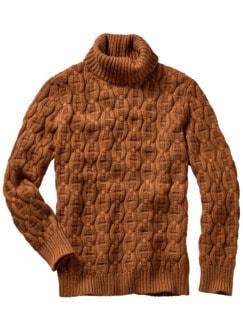 Irlands Ingwer-Pullover glazed ginger Detail 1