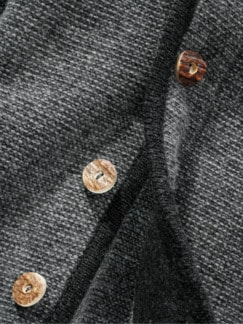 Alpen-Hoodie Thomas II grau Detail 4