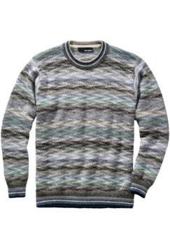 Qhichwa-Pullover bergnebel/blau Detail 1