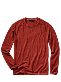 Kosmopoliten-Pullover cranberry Detail 1