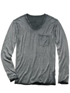 Buddy-Shirt Alan grau Detail 1