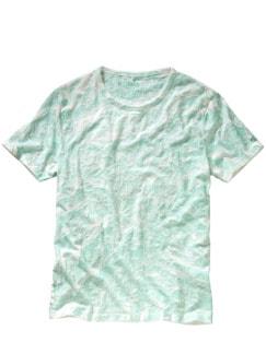 T-Shirt Ciadam grün/weiß Detail 1