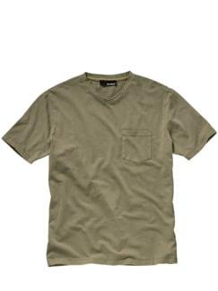 Hofbegrünung-Shirt moos Detail 1