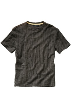 Pflasterrinnen-Shirt graumoos Detail 1