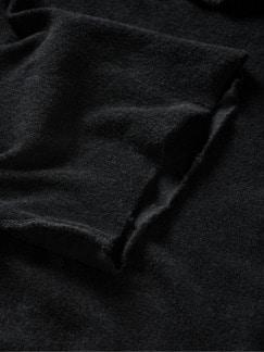 Frottee-Shirt Pi35sa schwarz Detail 4