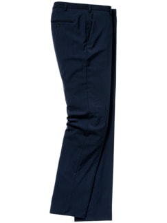 Blue Dynamic-Anzughose italienisch blau Detail 1