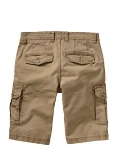 Frachtgut-Cargo-Shorts quarzsand Detail 4