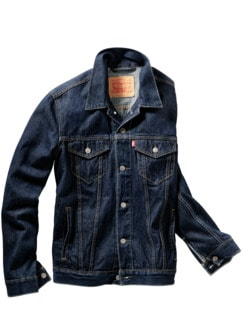 Levi`s Jeansjacke dark denim Detail 1