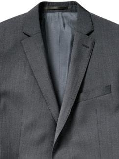 Grey Dynamic-Anzugsakko anthrazit Detail 3