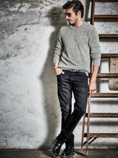 Graue Jeans phantom grey Detail 3