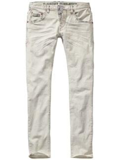Unclean-Jeans drecksweiß Detail 1