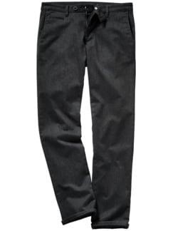 Fake Business Pants schwarz/grau Detail 1