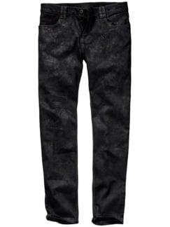 Bonneville-Denim coated black Detail 1