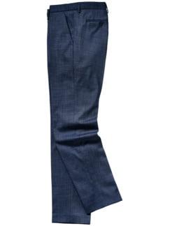 Strapazen-Anzughose blau Detail 1
