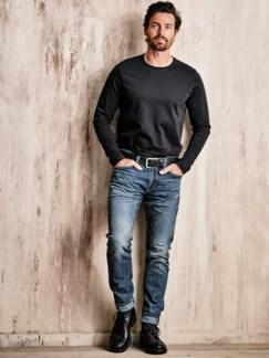 WaterLess Jeans 512 dark blue Detail 3
