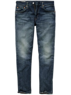 WaterLess Jeans 512 dark blue Detail 1