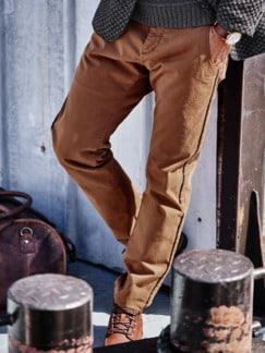 Barb`One Chino New Lexington haselnuss Detail 2
