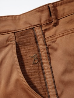 Barb`One Chino New Lexington haselnuss Detail 4