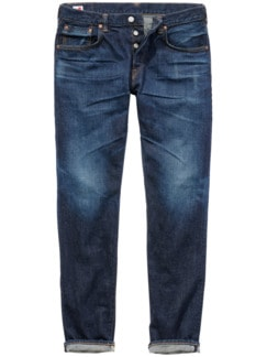 Edwin Selvage Jeans dark denim Detail 1