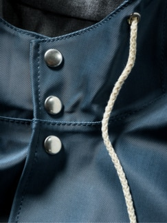 Raincoat Denim blau Detail 4