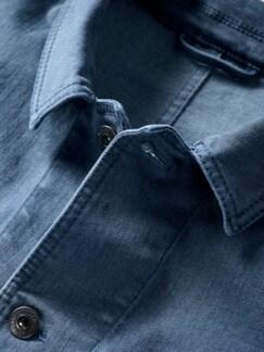 Fifty-Fifty-Overshirt blau Detail 3