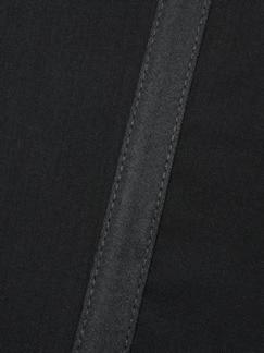 Gentleman`s Smokinghose nachtschwarz Detail 3