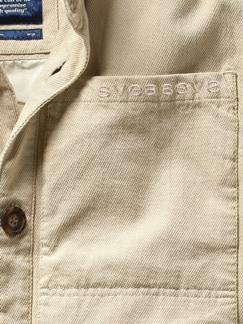 Utility Jacket sand Detail 4
