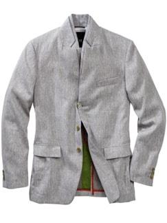 Design-Sakko Distinzione grau Detail 1