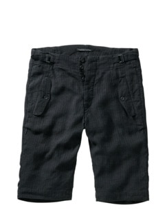 Pinstripe Shorts Wol21fek schwarz blau Detail 1