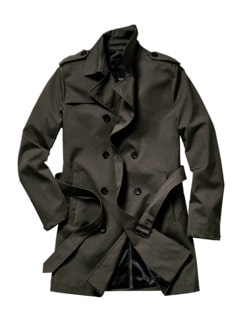 Trenchcoat Ciirving taupe Detail 1
