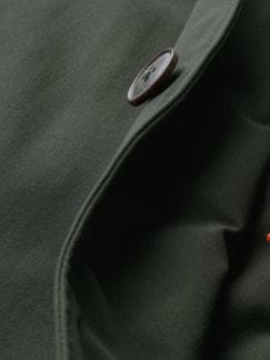 Vielflieger-Mantel olivgrün Detail 3