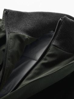 Vielflieger-Mantel olivgrün Detail 4