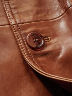 LEDERWERK Sakko cognac Detail 4